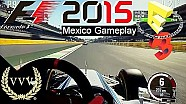 F1 2015 Mexico Gameplay E3 2015