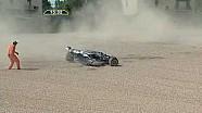 Marciello's big flip Formula Abarth 2010 Imola