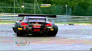 24H de Spa | BMW Z4 # 15 Boutsen Ginion Team Gran accidente