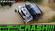 Racing y Rally  Compilación de Accidentes Semana 29 de julio 2015