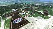 2015 Unadilla Motocross animated track map