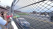 NASCAR at Daytona from the fence