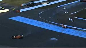 Lando Norris mit Überschlag - Formel 4, Hockenheim