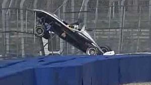 Crash de Lucas di Grassi en F3 en 2005