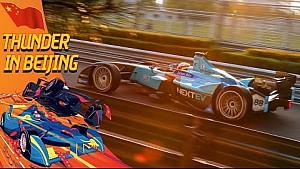 Fórmula épica E Slo-Mo tomas desde Beijing