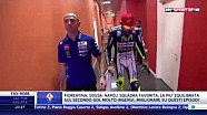 Valentino Rossi and Marc Marquez in Race Direction | Malaysia 2015