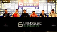 WEC 6 Hours of Shanghai - Pre-Event Press Conference