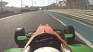 Flying lap of Yas Marina with Karthik Tharani
