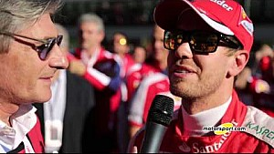 Ferrari World Finals | Exclusief interview met Sebastian Vettel