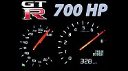 Nissan GTR Acceleration 0-300 Onboard Autobahn Landstrasse Sound 700 HP 1000 NM