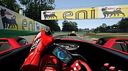 Simulation: Ferrari-F1-Konzept in Monza