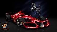 Ferrari F1 conceito no Assetto Corsa