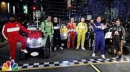 Les prétendants au titre NASCAR chez Jimmy Fallon avec Justin Bieber