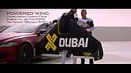 Jaguar XJR vs menselijke jet Dubai