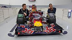 Daniil Kvyat and Daniel Ricciardo wish you a Merry Christmas