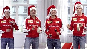 Season Greetings and Merry Christmas from Ferrari