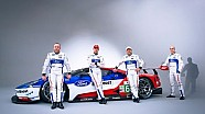Apresentação dos pilotos da Ford no WEC