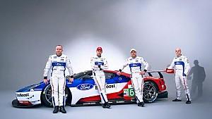 Pilotos Ford GT presentados para la batalla del World Endurance