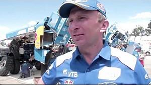 Kamaz-Master Team at Dakar 2016 - Jun 9-10