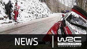 WRC Rallye Monte-Carlo 2016 - Spéciales 1-5