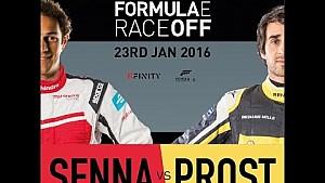 Senna contre Prost sur Forza Motorsport 6, le Formula E Race Off!