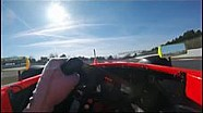 Driver's view Formula 3.5 V8 - Barcelona with Tom Dillmann