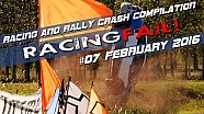 Racing and Rally Crash Compilation Week 07 February 2016