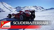 Passeggiata sulla neve - La Ferrari a Livigno