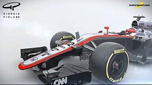 Studio Piola - McLaren MP4-30 (2015) 'S' duct technical analysis