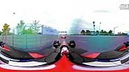 Formula E电动赛车2015年10月北京站车载360°摄像头