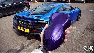 What Colour is my 675LT Spider? ... MSO Orion PURPLE!