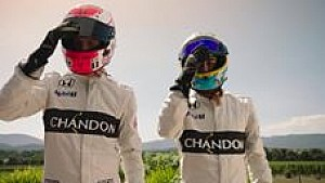 Alonso & Button: Wettrennen mal anders