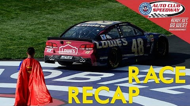 Highlights: NASCAR in Fontana