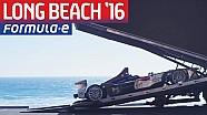 DS Virgin Racing Land in Long Beach! - Formula E