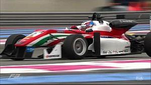 Лучшие моменты 1-й гонки Евро F3 в Ле-Кастелле