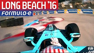 Nelson Piquet Onboard Hot Lap - Long Beach - Formula E