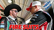 Hot under the collar? Not in a NASCAR fire suit
