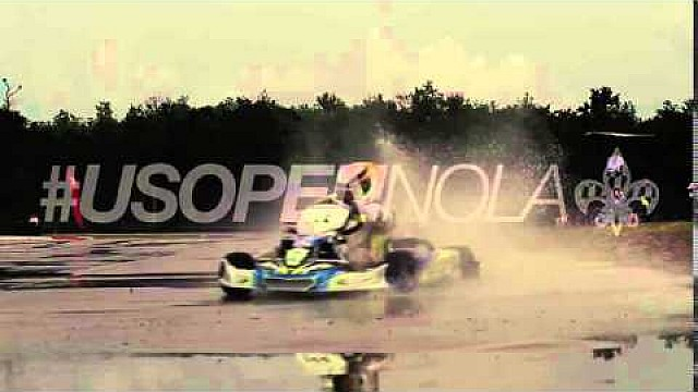 Karting promo video - wet lap