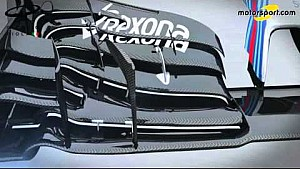 Giorgio Piola - Williams FW38 new nose and front wing