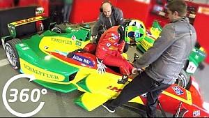 فيديو: توقّف آبت شايفلر آودي سبورت لتغيير السيارة - الفورمولا إي 360 درجة