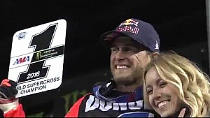 2016 - Race Day LIVE! - E. Rutherford - Dungey is the Champ!