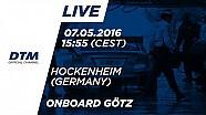 LIVE Onboard (Race 1) - Maximilian Götz (Mercedes-AMG C63 DTM) - DTM Hockenheim 2016