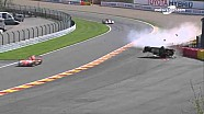 Aston Martin #95 huge crash
