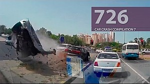 Car Crash Compilation # 726 - May 2016 (English Subtitles)