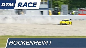 Crash Glock vs Juncadella - DTM Hockenheim 2016