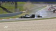 GP d'Espagne - Les replay du crash Rosberg/Hamilton