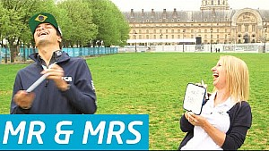 Mr & Mrs: Nelson Piquet vs Team PR Manager! - Formula E