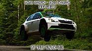 Pontus Tidemand - Jonas Andersson, Skoda Fabia R5 - PET Rally Finland 2016