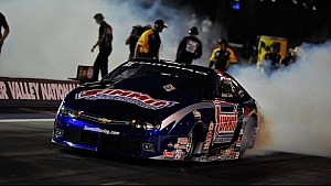 Pro Stock driver Jason Line races to qualifying lead in Bristol