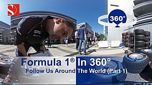 F1 In 360 Degrees - Around The World With Sauber F1 Team